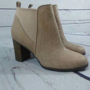 Dr Scholls Dixie heeled bootie size 6.5